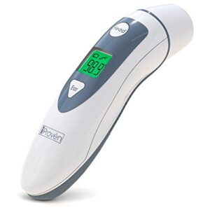 Medical Ear Thermometer with Forehead Function – iProven DMT-489 – Upgraded Infrared Lens Technology for Better Accuracy